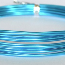Rond Ø 2mm x 5mtr. Turquoise